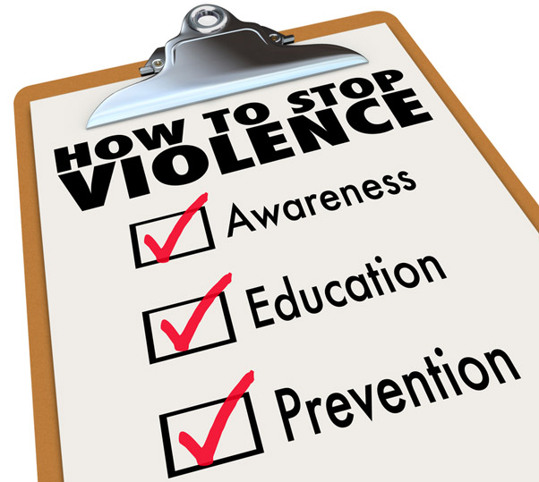 How to Stop Violence Checklist