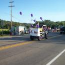 The EVE float in the Waterford Fair Parade.